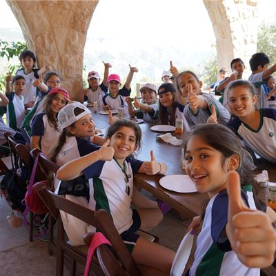 "Grade 3 trip to ""Arnaoon Village''"